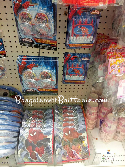 Disney Princess Spider Man Birthday Party Supplies Found At Dollar Tree