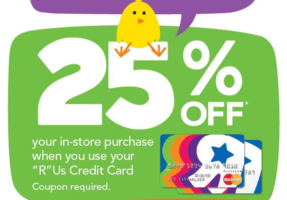 toys r us 25 off coupon for r us credit card holders coupons