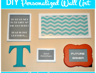 DIY Personalized Wall Art