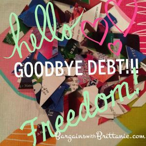 debt cut up