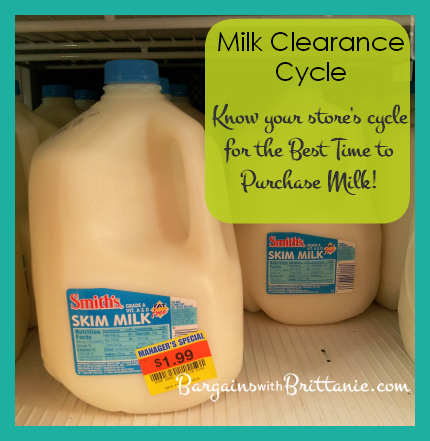 milk clearance cycle