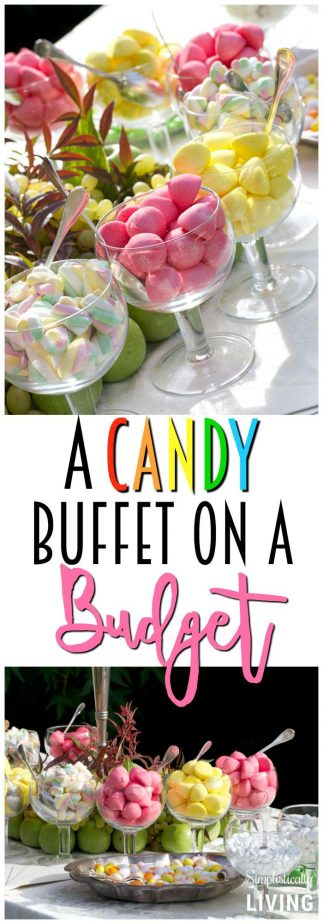 A Candy Buffet On Budget Candybuffet Candytable Budgetcandy