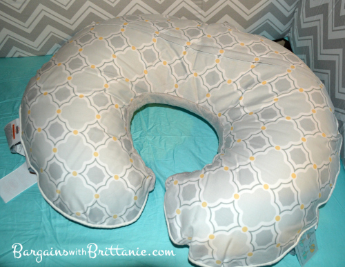 how to use boppy pillow for sitting