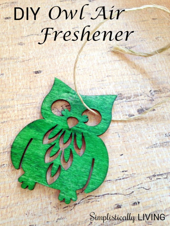 diy owl air freshener