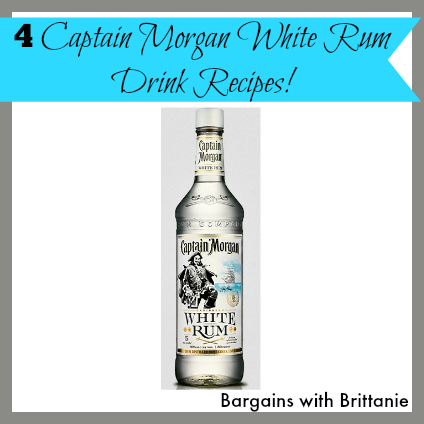 4 Captain Morgan White Rum Drink Recipes! Perfect for National Rum Day!