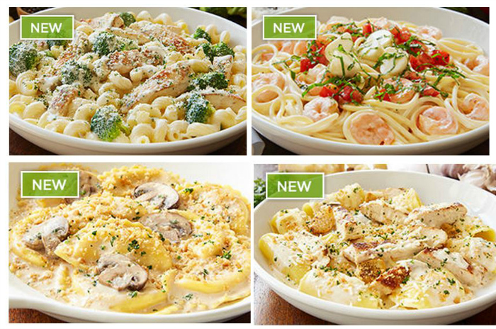 Olive Garden Alfredo Fest 3-Course Meal only $11.99 for a Limited Time ...