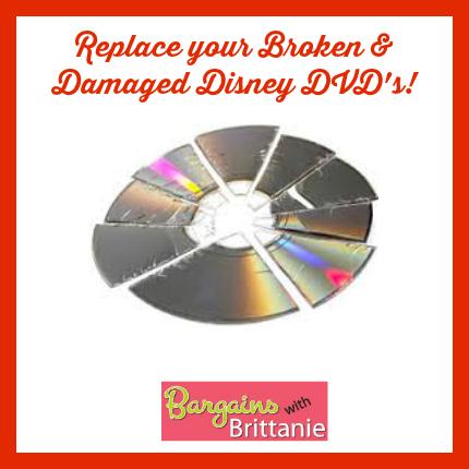 replace damaged Disney DVD's