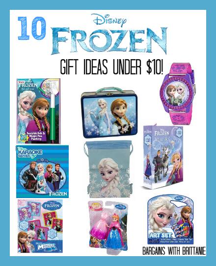 10 frozen gift ideas under $10
