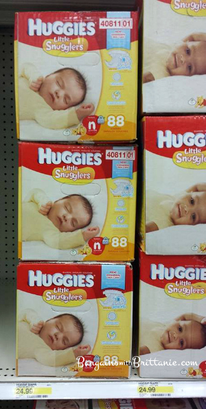 huggies little snugglers at target
