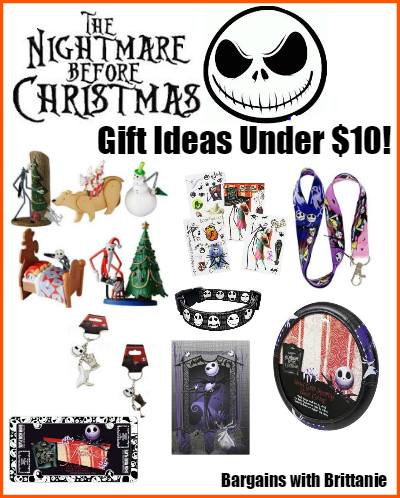 The Nightmare Before Christmas Gift Ideas Under $10!