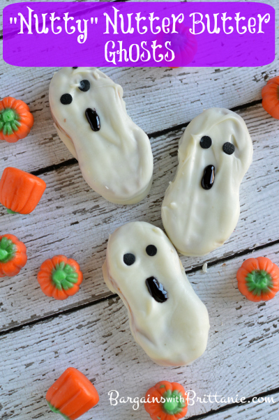 """Nutty"" Nutter Butter Ghosts"