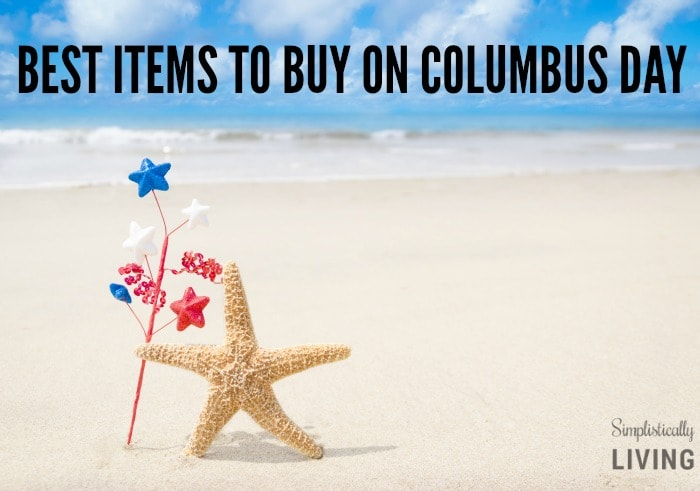 BEST ITEMS TO BUY ON COLUMBUS DAY featured