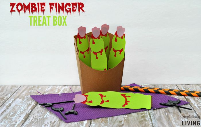 Zombie Finger Treat Box featured