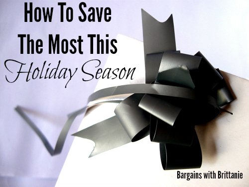 how to save the most this holiday season