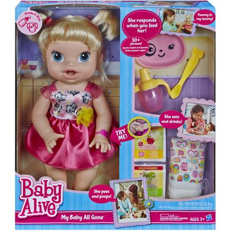 Baby Alive That Eats Food Packets
