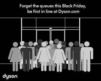 dyson black friday sale save up to 150 on select models. Black Bedroom Furniture Sets. Home Design Ideas