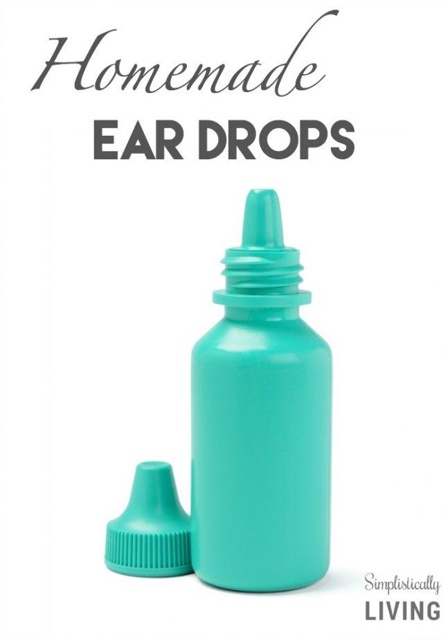 Homemade Ear Drops
