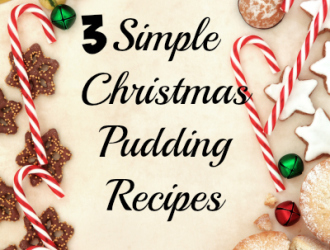 3 Simple Christmas Pudding Recipes
