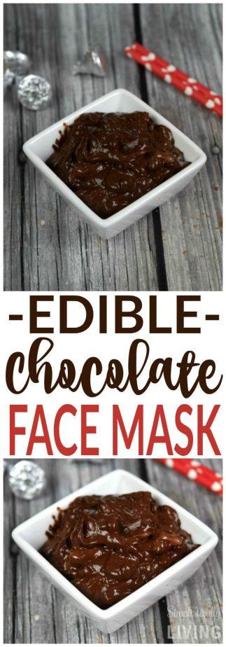 DIY Chocolate Face Mask #diy #chocolatefacemask #chocolate #beautyproducts #handmadebeauty #makeup