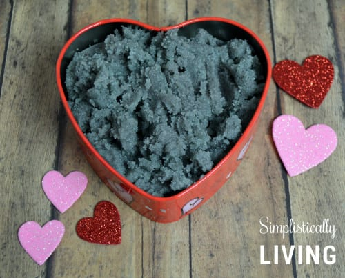 love spell sugar scrub in tin