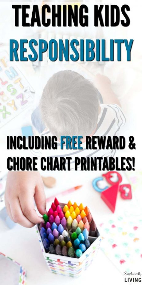 Teaching Kids Responsibility through a commission based rewards system (Based off Dave Ramsey Principles). Includes free printable reward and chore chart! #freeprintable #commissionchart #parentingtips #allowance #kidschore #daveramsey