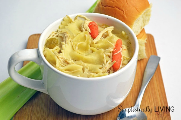 HOMEMADE CHICKEN NOODLE SOUP2