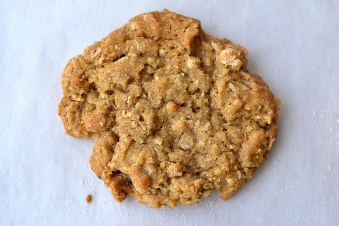 Oatmeal Craisin Cookies (No Eggs Needed) Featured