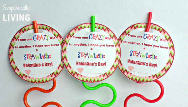 crazy straw valentine up close