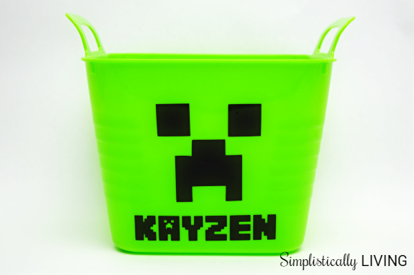 minecraft creeper basket2