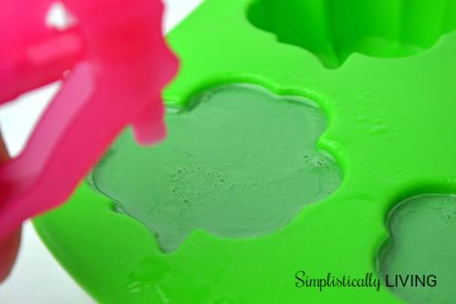soap bubbles gone
