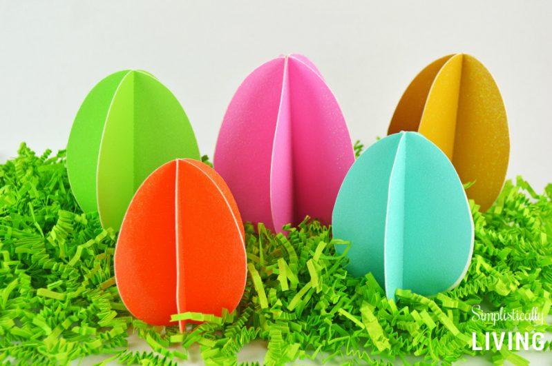 3D Paper Eggs2