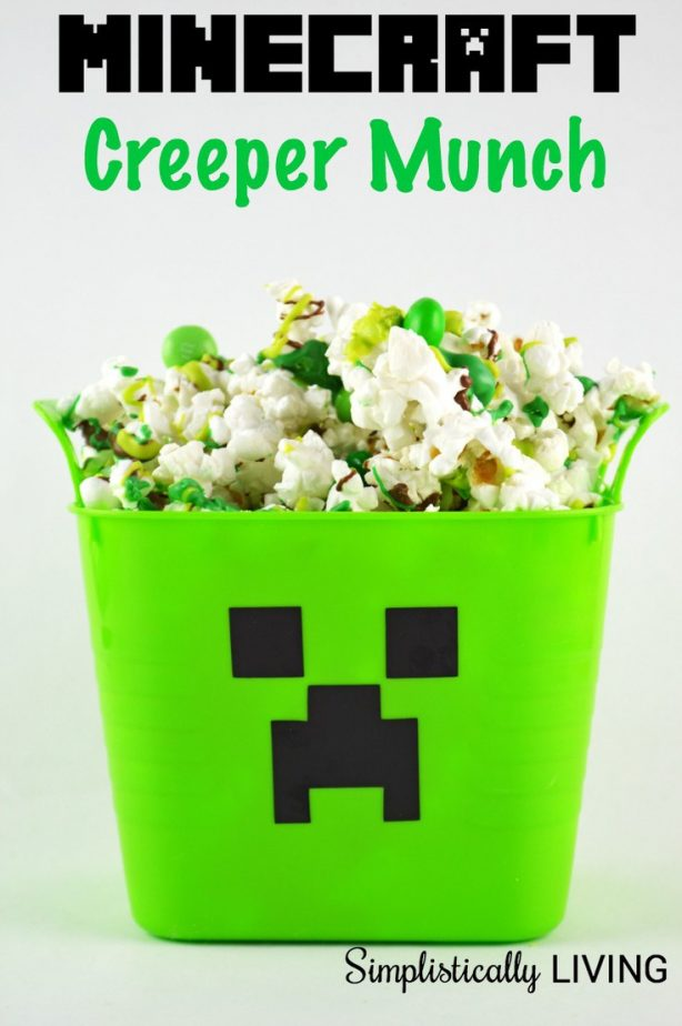 how to make quick creeper build in minecraft