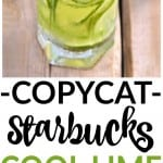 starbucks cool lime