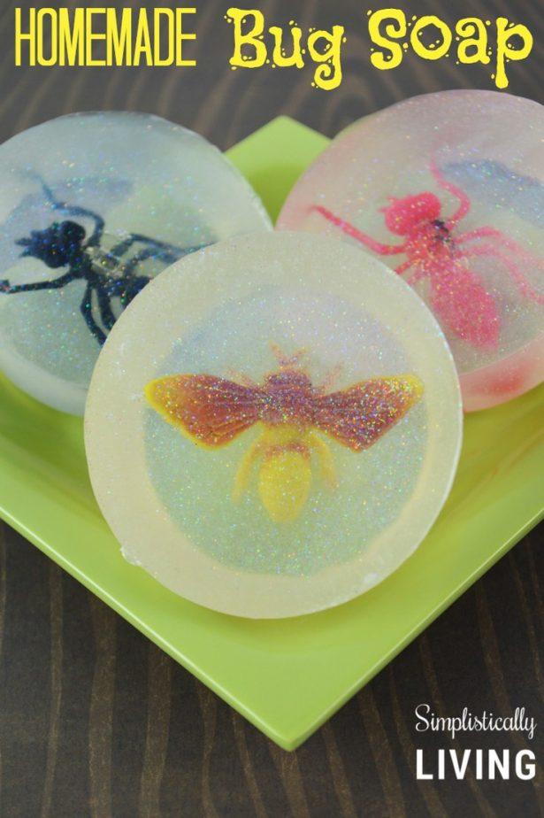 homemade bug soap
