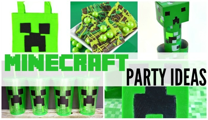 minecraft party ideas featured