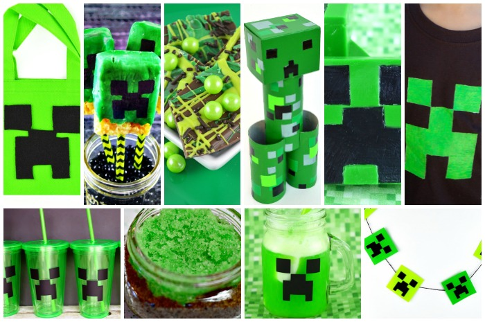 minecraft party ideas2