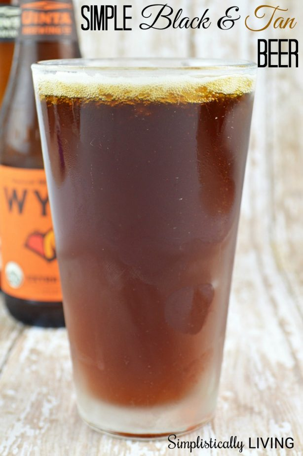 simple black and tan RECIPE