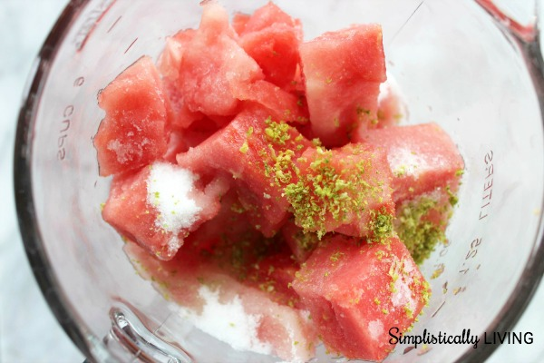 watermelon key lime slushie inprocess2