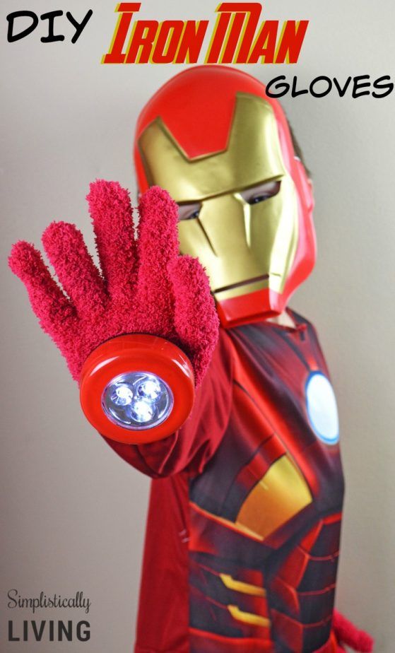 DIY Iron Man Gloves