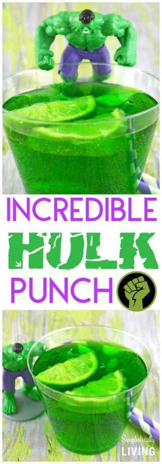 Incredible Hulk Punch #hulk #hulkpunch #avengers #avengersparty #hulkparty