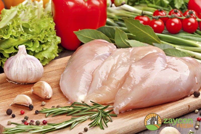 Chicken breast preparation
