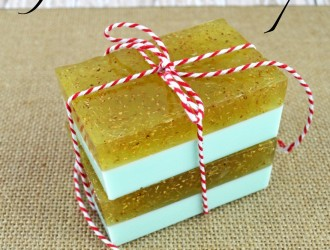 Homemade Gardener's Soap