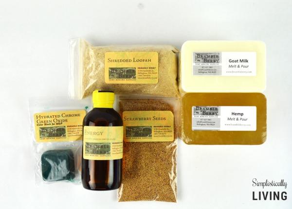 homemade gardeners soap supplies