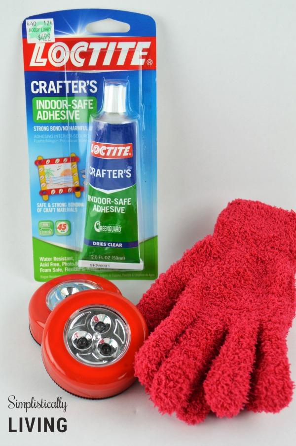 iron man gloves supplies