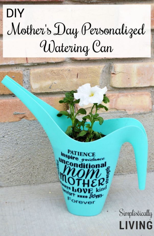 personalized watering can
