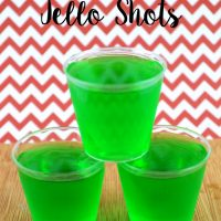 Simple Tequila Lime Jello Shots