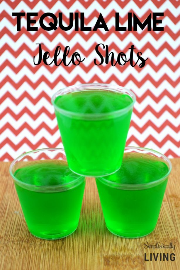 Best tequila jello shots for Best tequila shot recipes