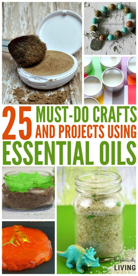 Crafts and Projects Using Essential Oils