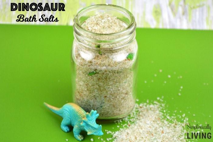 Dinosaur Bath Salts Featured