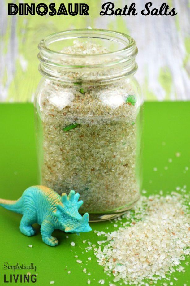 Dinosaur Bath Salts
